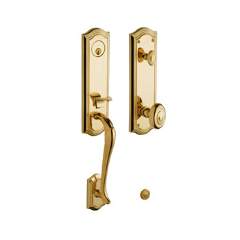 ... Bethpage Tubular Entry Lock Set From The Baldwin Estate Collection ...