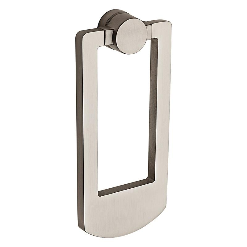 Knobs llc door knockers by baldwin reserve - Door knocker nickel ...