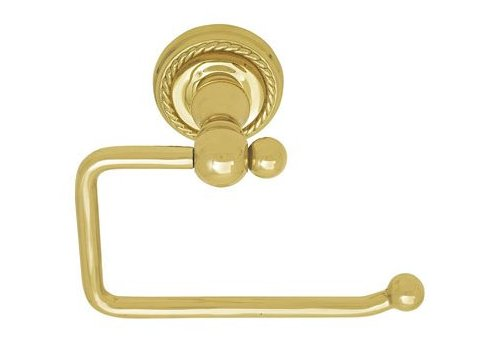 ... Emtek Brass Collection Single Post Tissue Holder   Bath Hardware ...