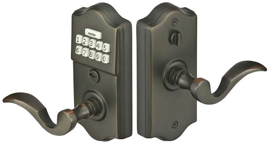 Keypad Deadbolt With Handle Emtouch Keypad Deadbolt