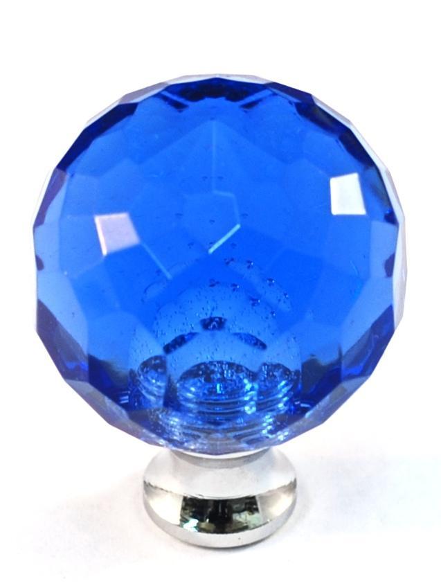 lead crystal knob