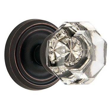 Clear Old Town Knob Crystal Collection By Emtek Knobs