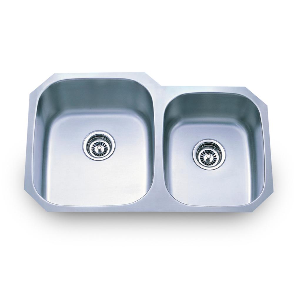 801L 18 Undermount Stainless Steel Sink   Hardware Resources