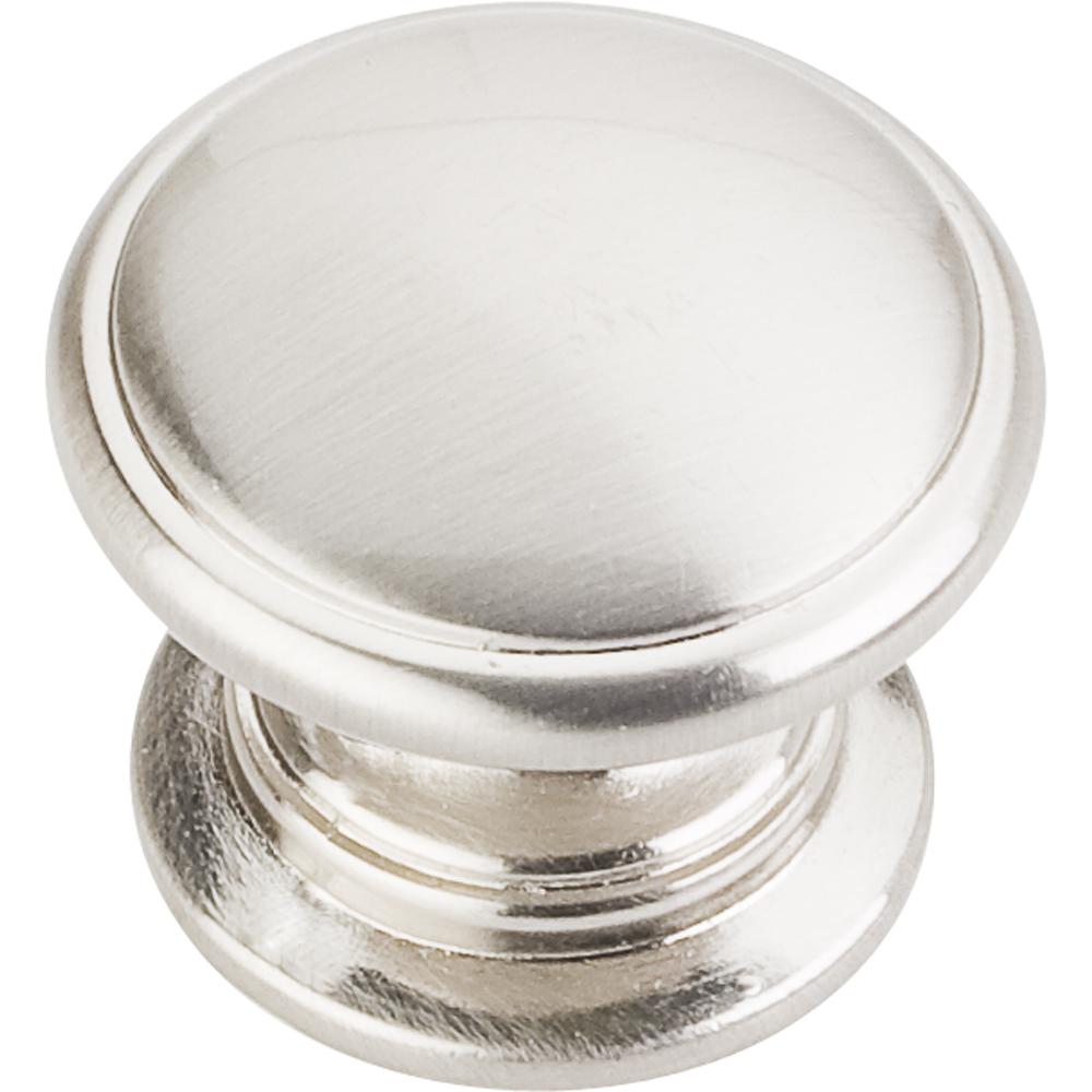 114 diameter knob satin nickel
