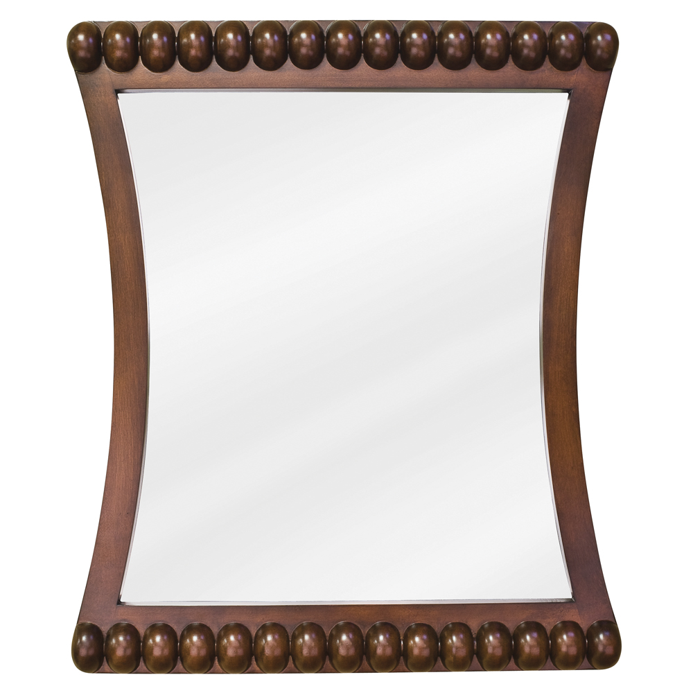 (click image to view larger image) Rosewood Beaded Mirror