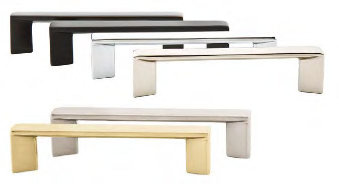 Bon Trinity Drawer Pull   Modern Collection By Emtek