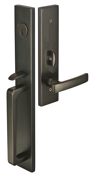 Lugano Mortise Entry Set Modern Collection By Emtek