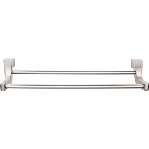 Top Knobs Aqua Collection Double Towel Bar