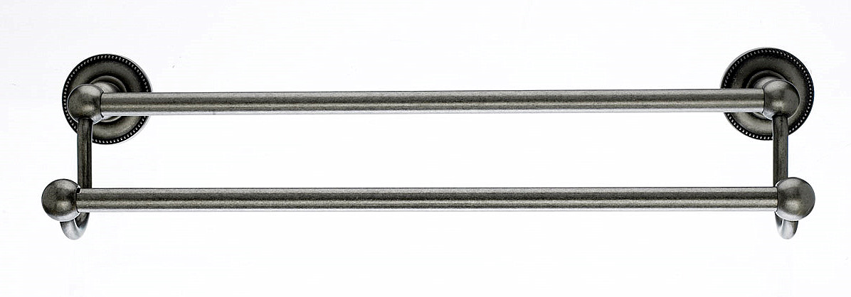 Top Knobs Edwardian Collection Double Towel Bar