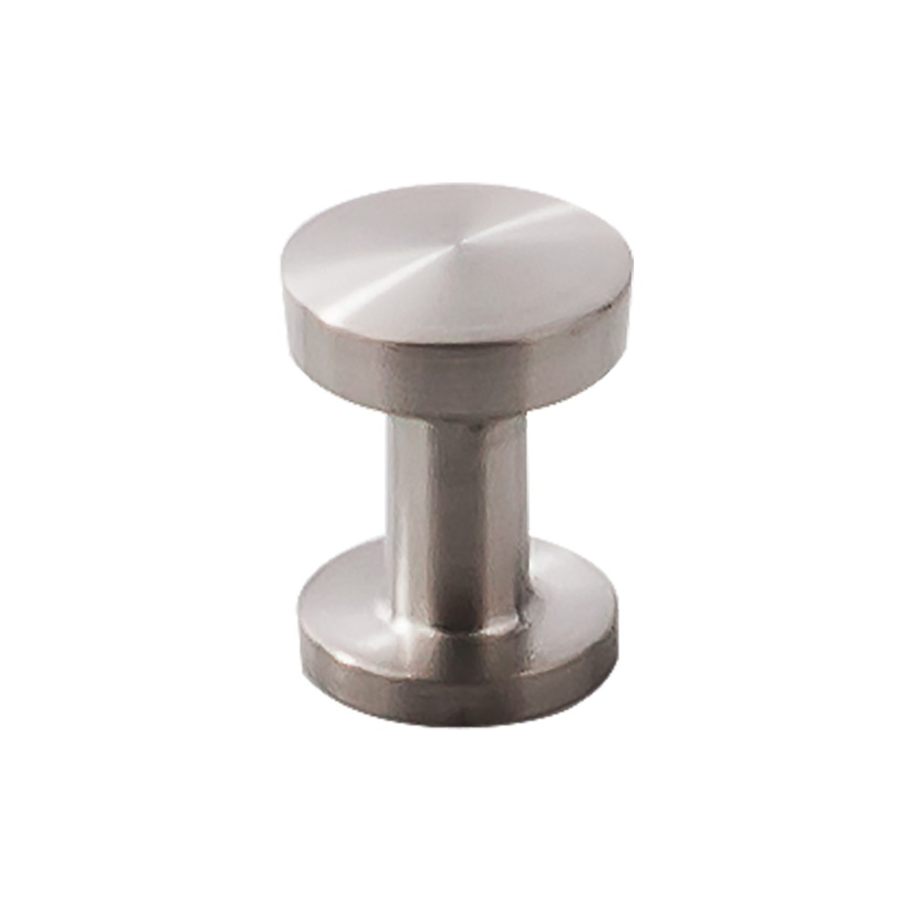 Knob 13/16 Inch Brushed Stainless Steel From The Stainless Collection By  Top Knobs