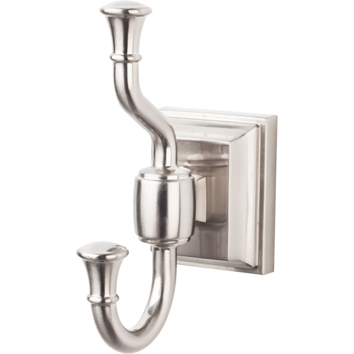 Top Knobs Stratton Collection Double Robe Hook