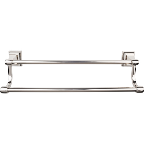 Top Knobs Stratton Collection Double Towel Bar