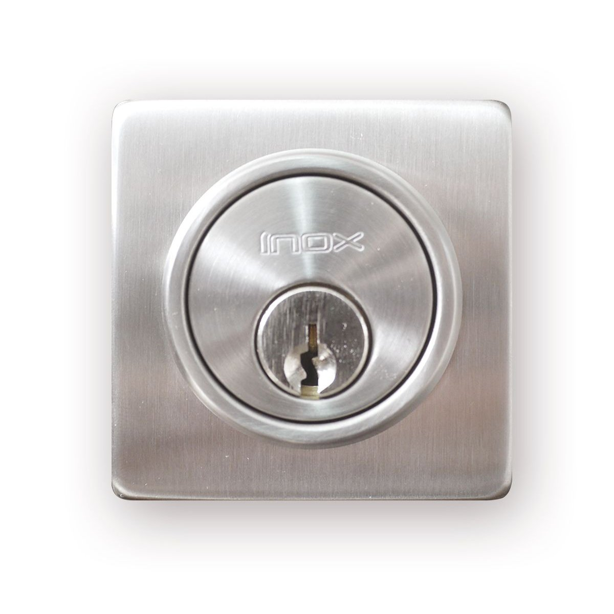 Knobs Etc Com Llc Square Stainless Steel Deadbolt